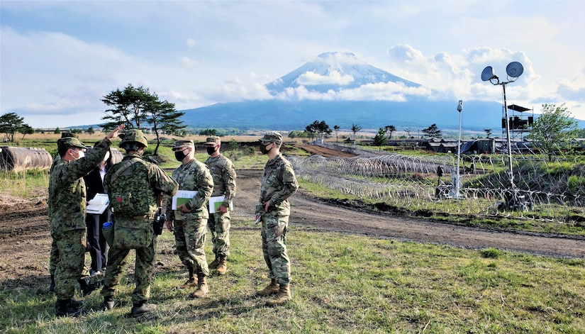 A photo from the Japan Engineer District