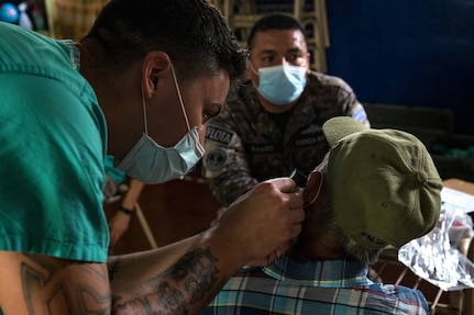 Resolute Sentinel 21 concludes in El Salvador for JTF-B medical personnel