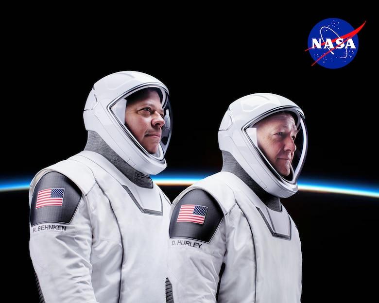 Subject: SpaceX DM2 Crew - Bob Behnken and Doug Hurley Location: Hawthorne, CA Photographer: SpaceX/Ashish Sharma