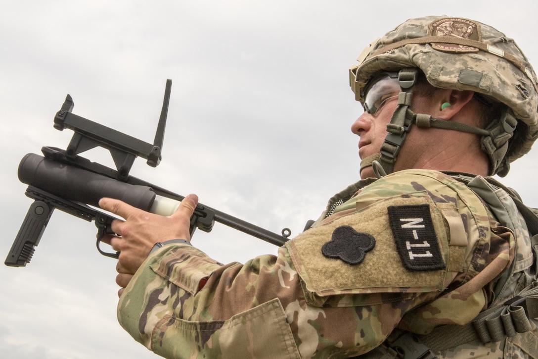 2021 U.S. Army Reserve Best Warrior Competition – M240/M249/M2 Machine Guns Event