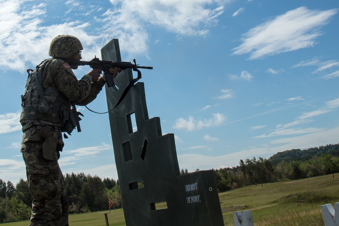 """2021 U.S. Army Reserve Best Warrior Competition – """"Three Guns"""" Event"""