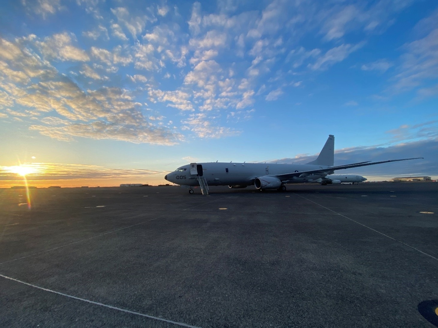 A P-8A Poseidon maritime patrol aircraft from VP-40 conducted exercise detachments out of Keflavik, Iceland and Rota, Spain in addition to supporting operational missions out of Sigonella, Sicily under Commander, U.S. Sixth Fleet and Task Force 67.