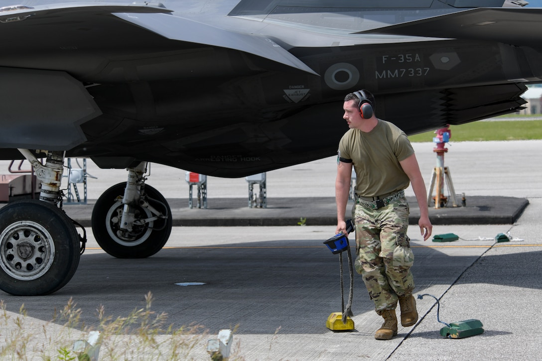 For the first time ever, two F-35s landed at Aviano in support of AK21 May 20, 2021.