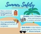 Summer Safety Sunscreen Tips