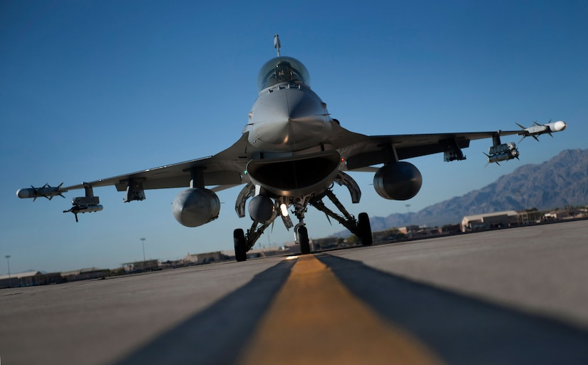 The goal of F-16 Fighting Falcon aircraft mechanics with the 187th Fighter Wing, Alabama Air National Guard, is to keep their aircraft in the air and contributing to the Air Force mission of flying, fighting and winning. (U.S. Air Force photo/Val Gempis)