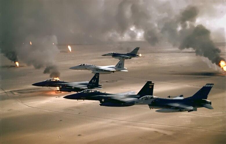F-16 Fighting Falcons.(U.S. Air Force photo)