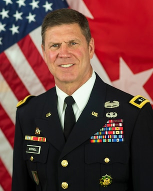 """""""I fell in love with leadership.""""  These are the words that Maj. Gen. Daniel Mitchell, commanding general, U.S. Army Sustainment Command, repeated over and over as he looked back at his nearly 40 year career in the Army."""