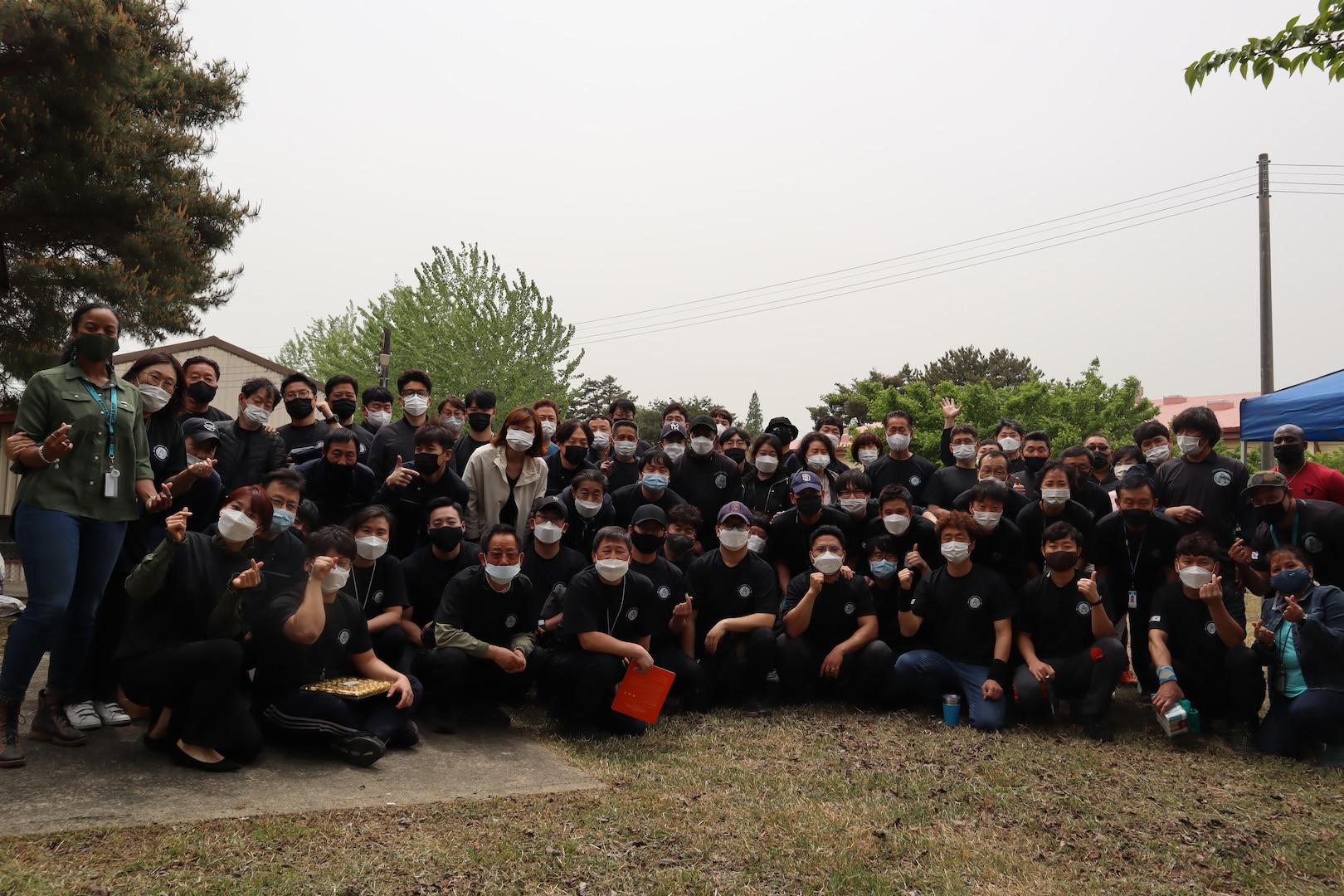 DLA Distribution Korea walks, hikes, bikes 1,151 miles for DLA Teal Ribbon Relay
