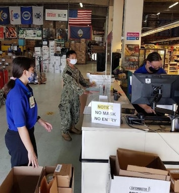 GSA prepositions high-demand supplies to support DoD mission.