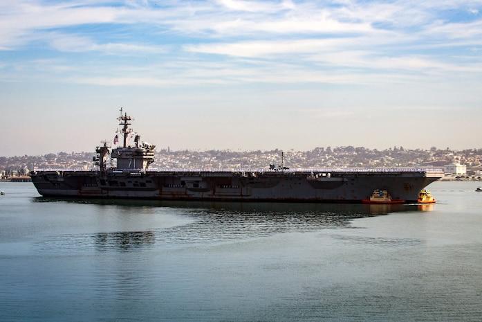 USS Theodore Roosevelt Returns from Deployment