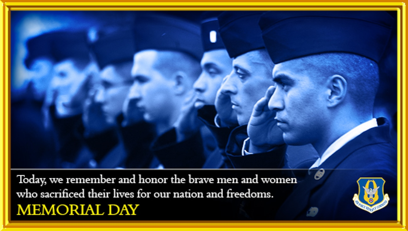 U.S. Air Force Memorial Day graphic