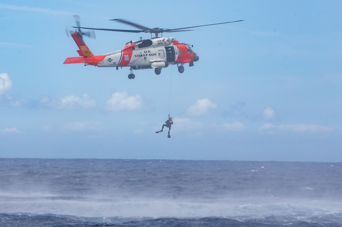 2nd Marine Aircraft Wing (MAW) does not possess organic search and rescue resources. In the event that an aircraft belonging to the USMC goes down in the ocean, 2nd MAW would coordinate search and rescue efforts through the USCG. (U.S. Marine Corps photo by Lance Cpl. Elias E. Pimentel III)