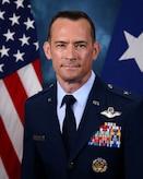 This is the official portrait of Brig. Gen. Paul D. Moga.