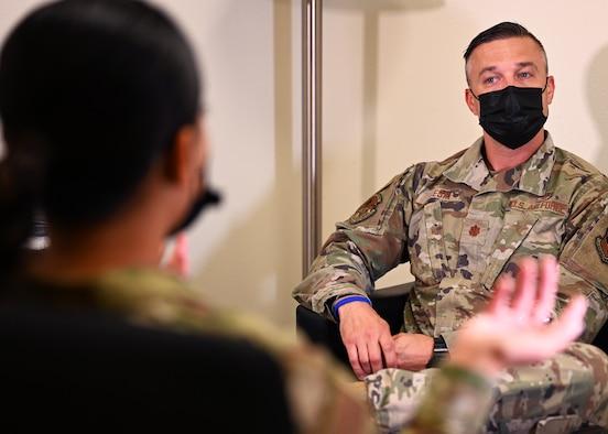 photo of airmen at mental health