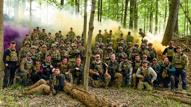 The beta Integrated Defense Leadership Course was held May 10–24, at Youngstown Air Reserve Station and Camp James A. Garfield, Ohio, to provide Defenders hands-on combat readiness training.