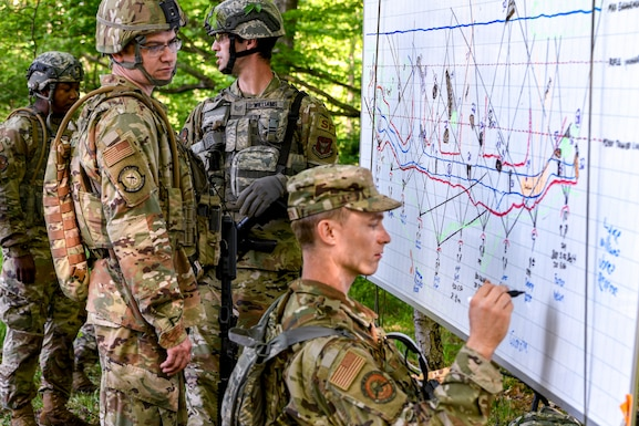 Security Forces Reservists accelerate readiness during intensive training