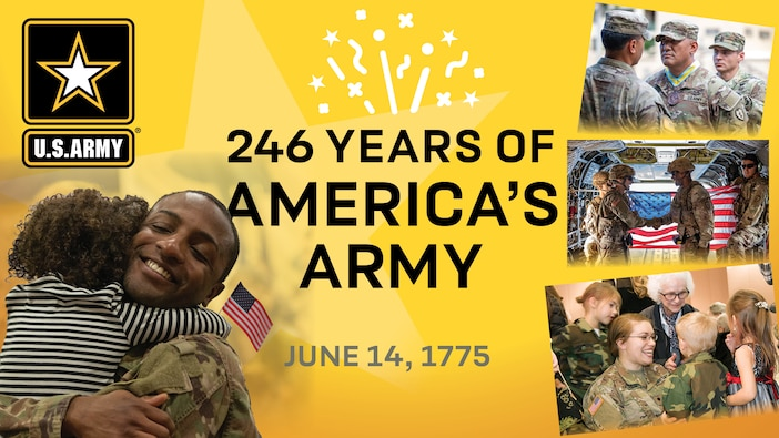 Celebrating the 346th U.S. Army Birthday - Join the Virtual Events