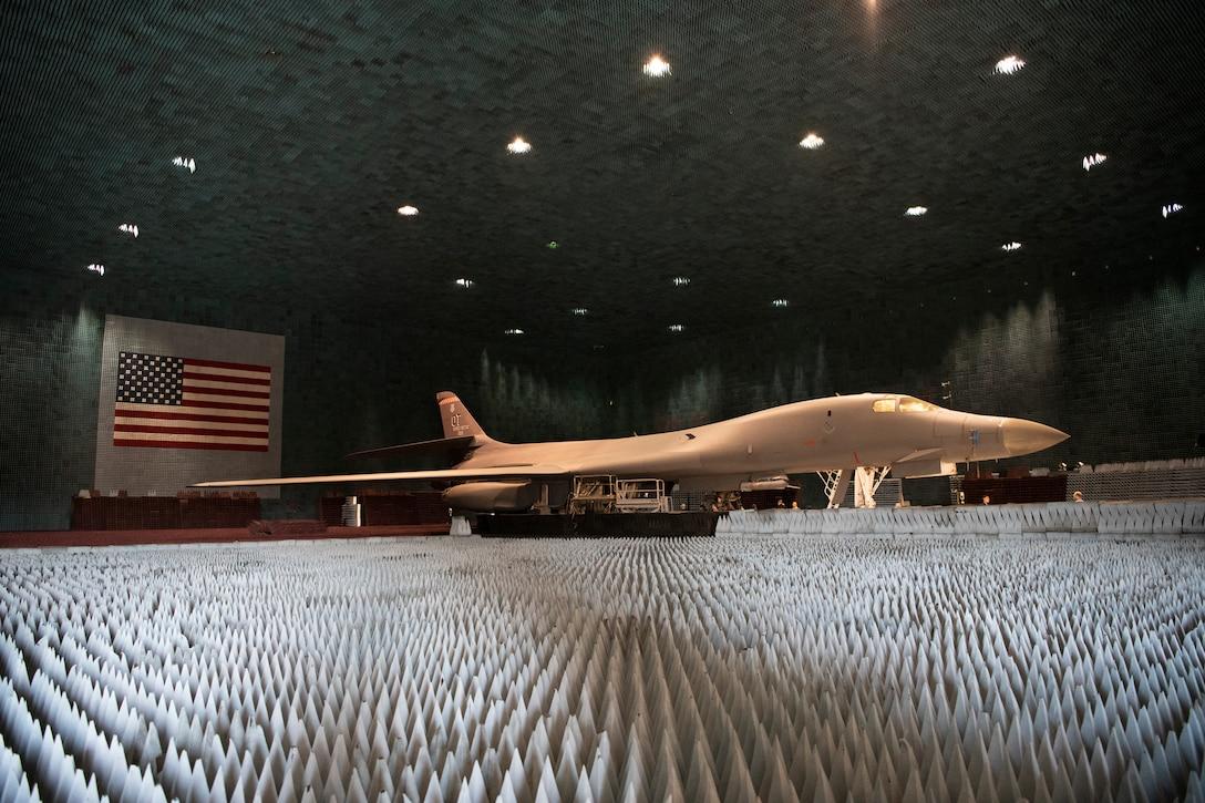 B-1B Lancer Undergoes Electronic Warfare Testing in the BAF