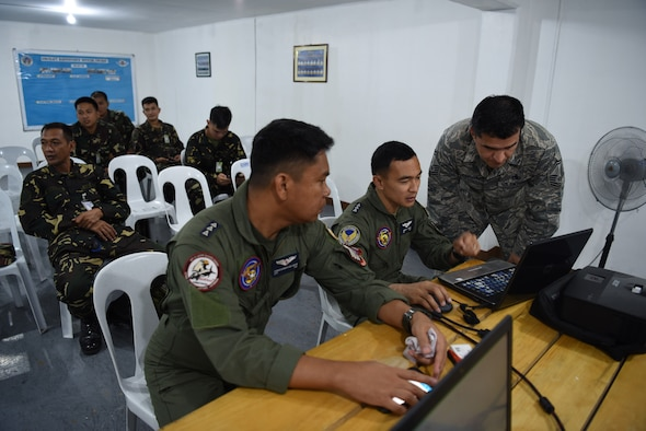 bilateral air contingent exchange at Clark Air Base, Philippines