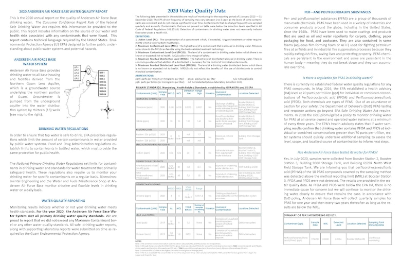 2020 Annual Drinking Water Quality Report