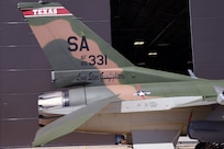 149th Fighter Wing F-16 paint scheme commemorates anniversary