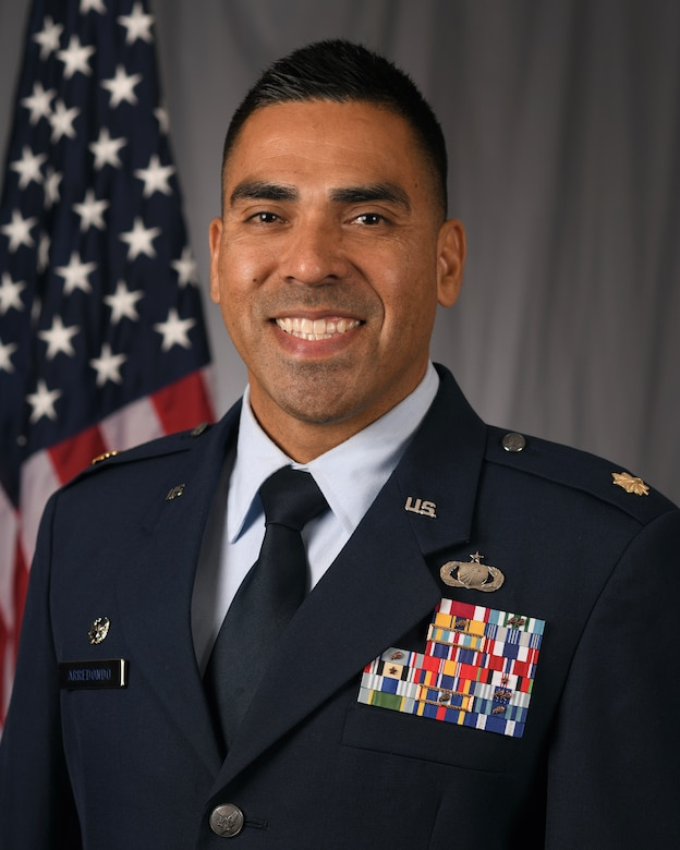 U.S. Air Force Maj. Ruben Arredondo, 11th Contracting Squadron commander, was nominated in the senior officer category for the 2021 Lance P. Sijan United States Air Force Leadership Award by the 11th Wing, Joint Base Anacostia-Bolling, Washington, D.C. The wing nominated four of its Airmen for the award, with each competing at the Air Force District of Washington direct-reporting unit and major command level. Each year, one senior officer, one junior officer, one senior enlisted and one junior enlisted member earns the award for exceptional leadership traits in mission accomplishment or overcoming unique problems and emergencies, ability to inspire others and demonstrate eagerness to assist in goal accomplishment, and involvement in their local community. (Courtesy photo)