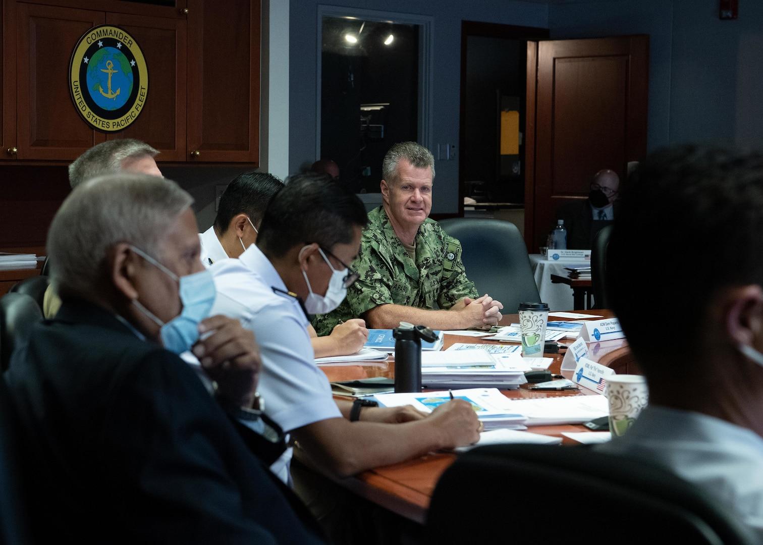 U.S. Pacific Fleet Hosts Combined Force Maritime Component Commander Course