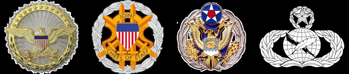 BG Ryder's Badges