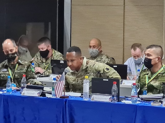 U.S. Army South co-hosted the second multilateral Border Security Conference in Manaus, Brazil, Sept. 28-29 to improve border security cooperation between Brazil, Colombia, Ecuador, Panama, Peru and the U.S.A. The Border Security Conference allows the sharing of good practices and lessons learned in dealing with issues related to border protection, observing the individualities of each country's defense policies and identifying opportunities for exchanges that improve understanding of challenges, opportunities and threats of the border region. The Western Hemisphere is our shared home, and only together will we realize the full potential of a safe and secure neighborhood.