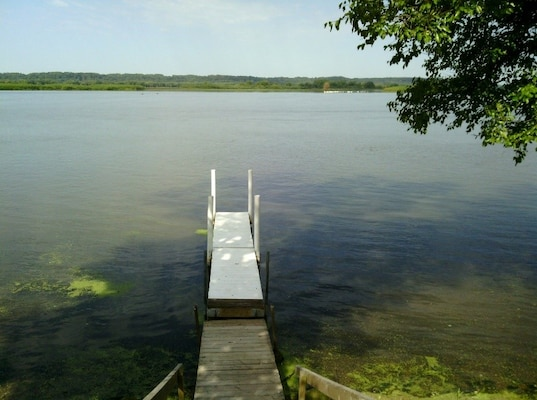 Permitted Dock within Limited Development Area  in Pool 13, Thomson, Illinois
