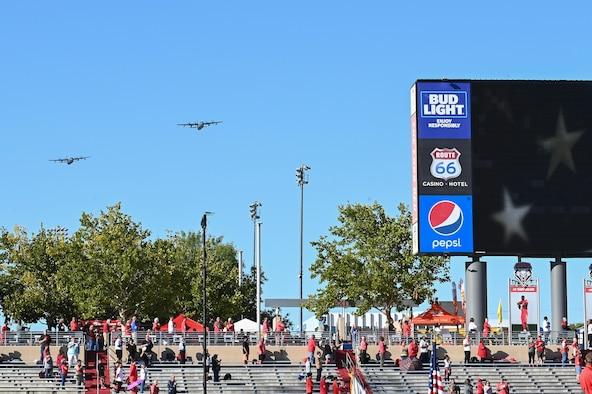 AFA vs. UNM football flyover