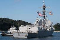 USS Ralph Johnson joins Forward-Deployed Naval Forces Japan