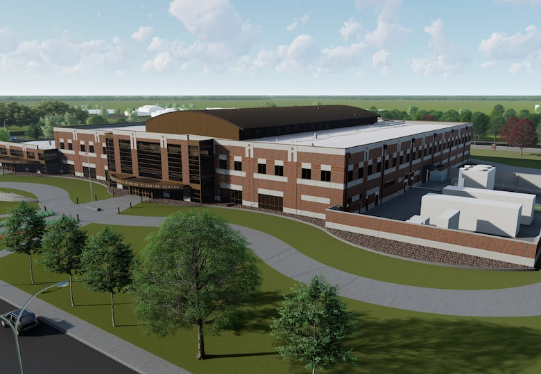 Artist's rendering of Joint Operations and Mission Planning Center