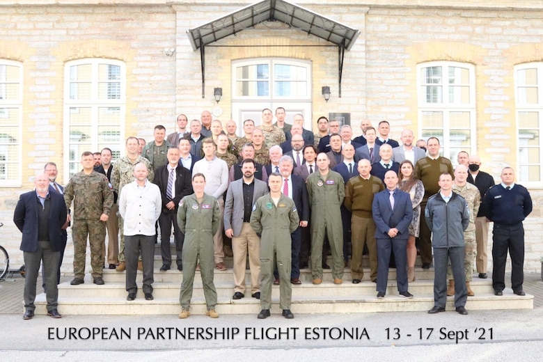 U.S., Estonia host European Partnership Flight Event