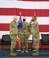 Change of command salute