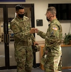 CMSSF Towberman visits the JBA ALS Airmen
