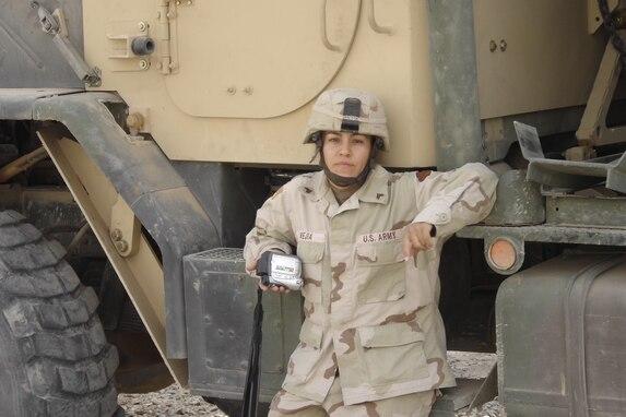 1st Lt. Lucia Mejia