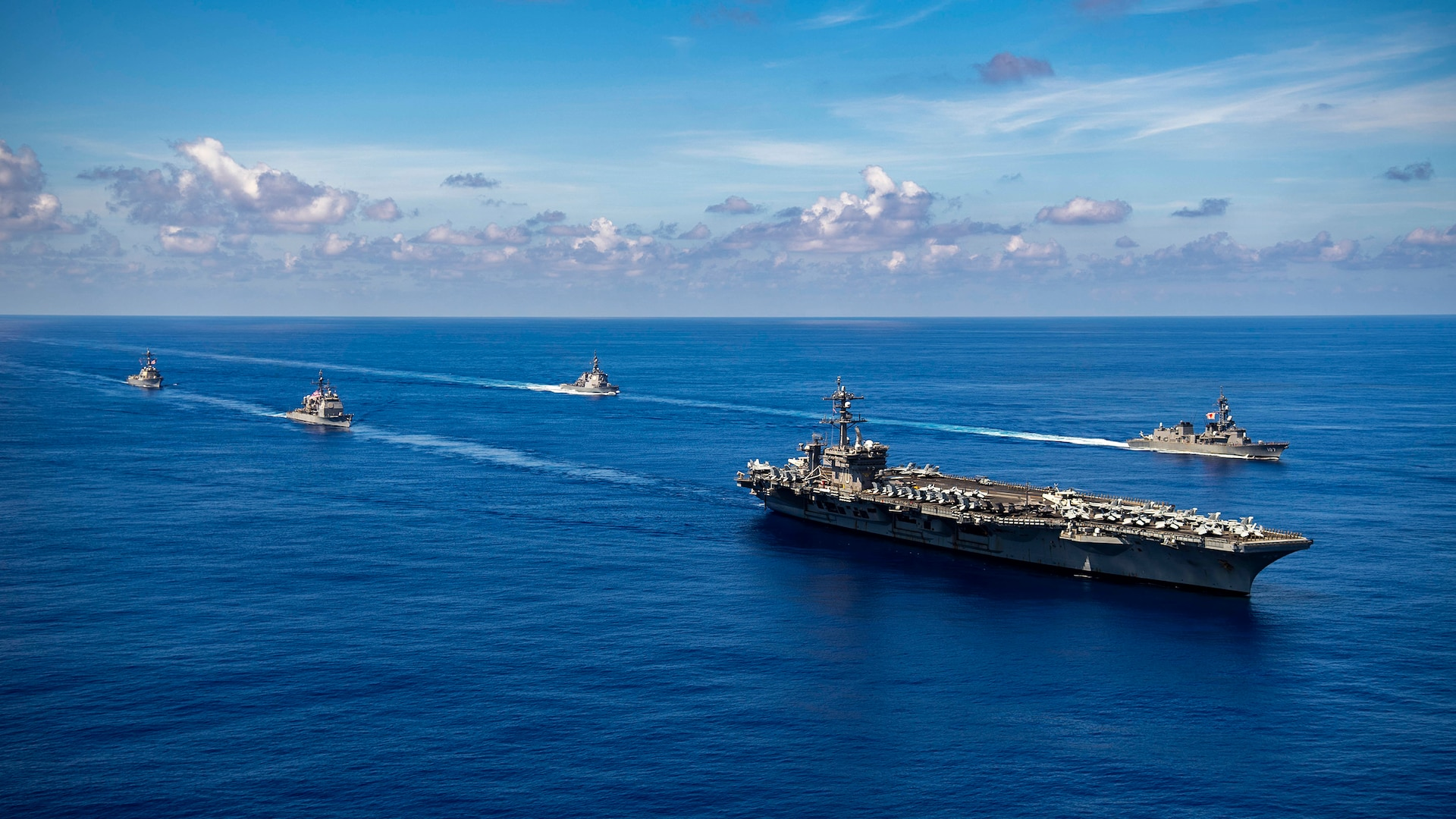 Japan Maritime Self-Defense Force, U.S. Carrier Strike Group 1 Complete Bilateral Exercise