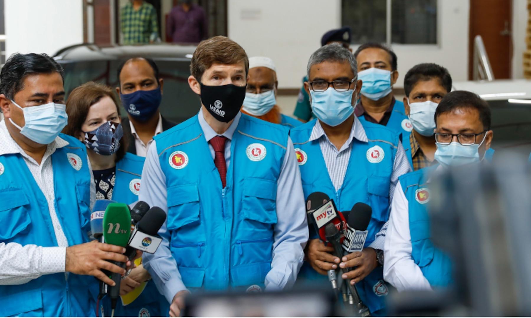 Pfizer Vaccines to Bangladesh