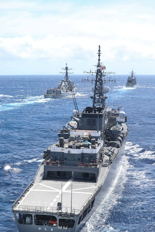 U.S. Navy, Japan Maritime Self-Defense Force Conduct CODEP