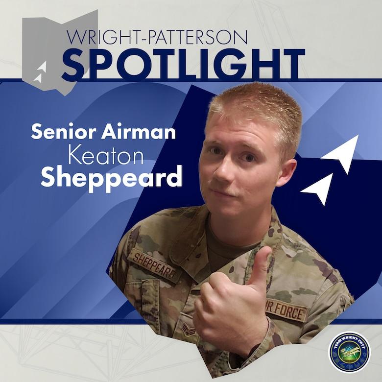Senior Airman Keaton Sheppeard
