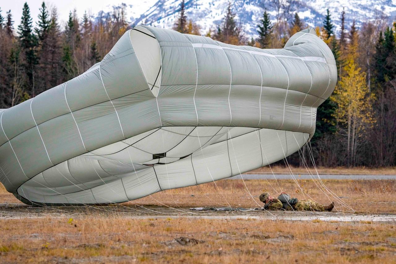Airborne in Alaska