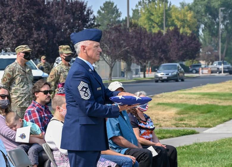 ORANG Command Chief Retires