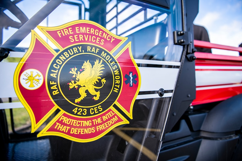 Fire prevention week takes place at RAF Alconbury, England, Oct. 4-8, 2021. Fire prevention week was designed to educate Airmen and family members from the 501st CSW on proper fire safety habits. (U.S. Air Force photo by Senior Airman Eugene Oliver)