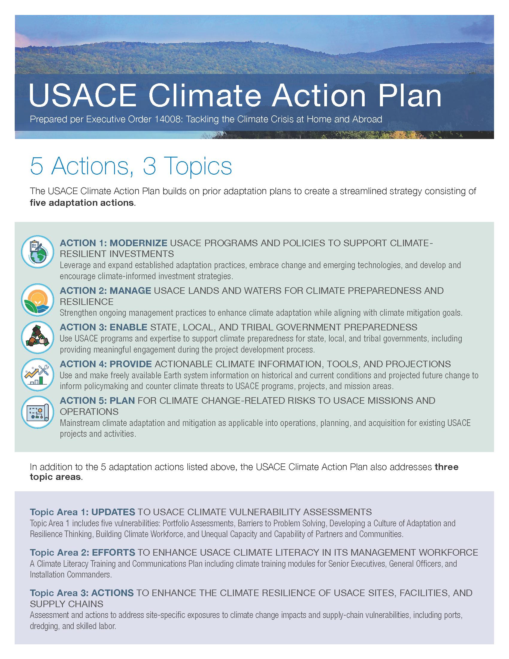 Climate Action Plan Fact Sheet