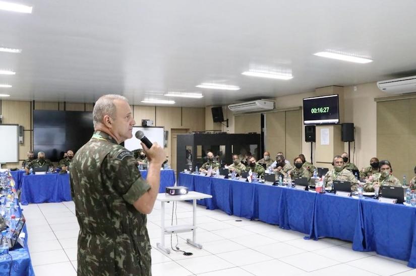 Gen. Achilles Furlan Neto, commander of the Brazilian Army Amazon Military Command