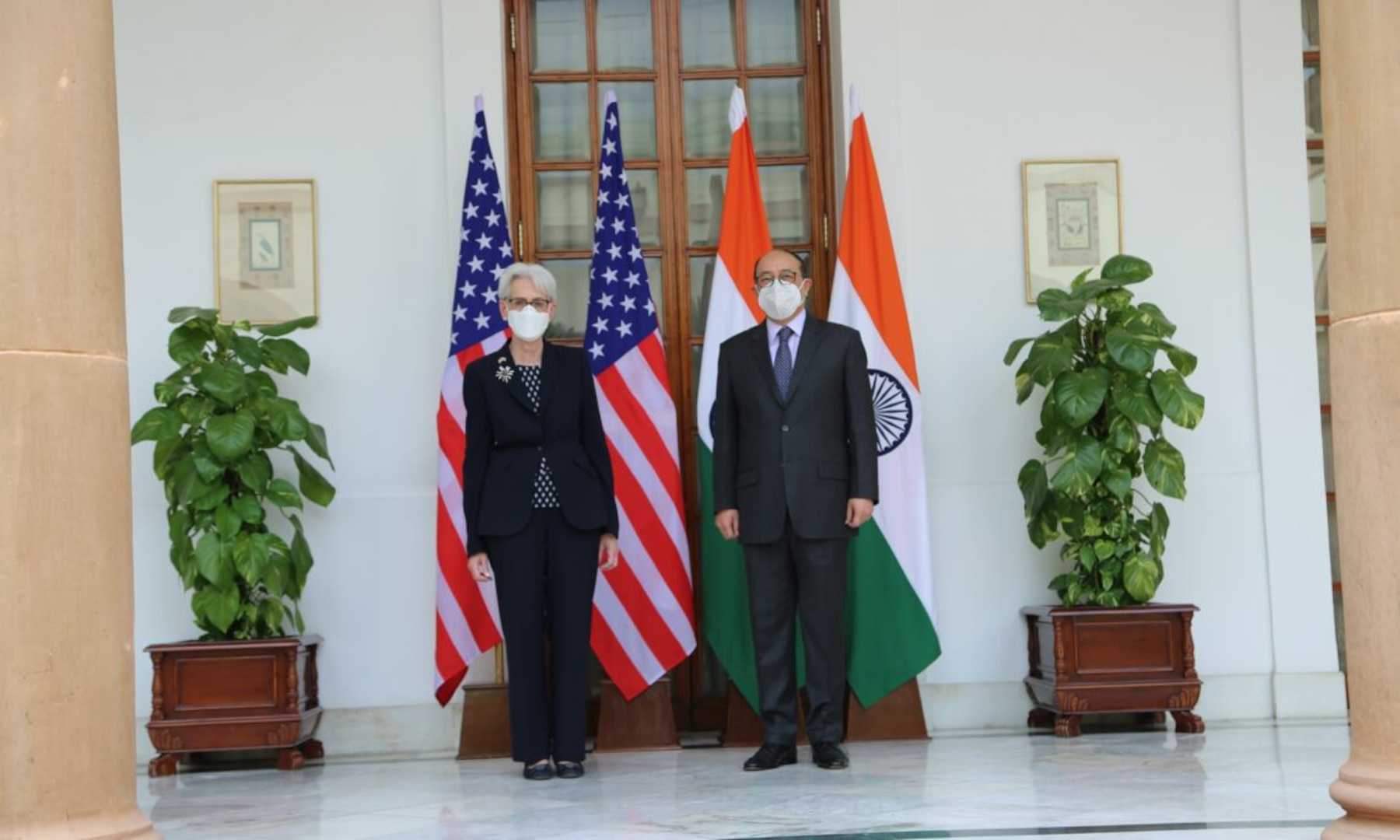 Meeting with Indian Foreign Secretary Harsh Shringla