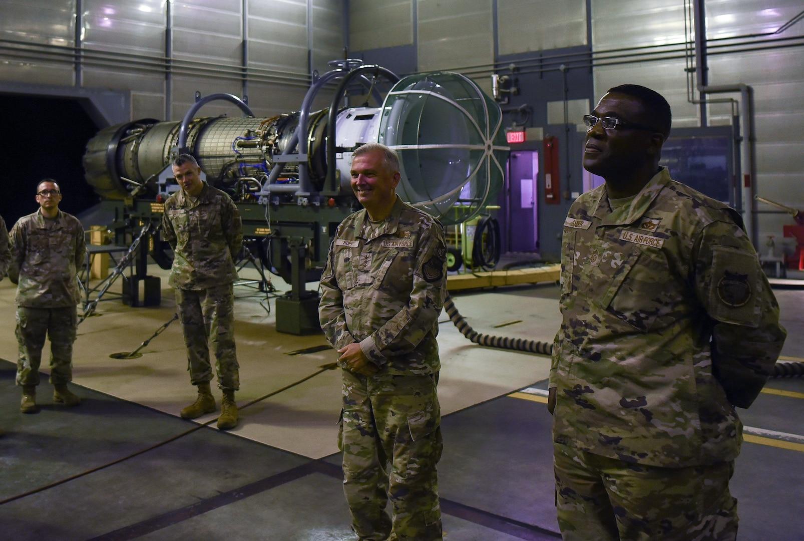 USFJ, 5th Air Force Leadership Visits Misawa