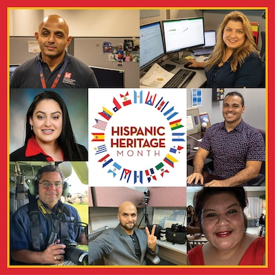 Every year, we observe National Hispanic Heritage Month (HHM) from September 15 through October 15. We asked several Hispanic identifying folks here at the U.S. Army Corps of Engineers Galveston District what this observance means to them.