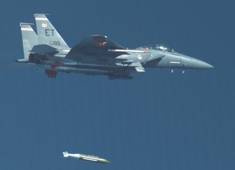 GBU-72 dropped at Eglin